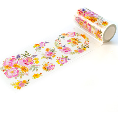 Washi Tape, Painted Peony Mix