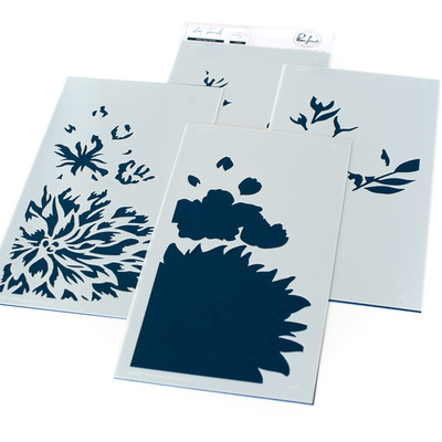 Layering Stencil Set, Miss Your Smile