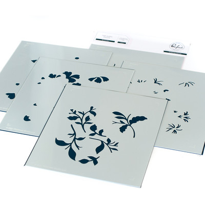Layering Stencil Set, Be Strong