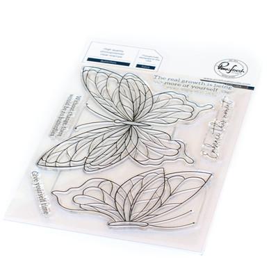 Clear Stamp, Butterflies