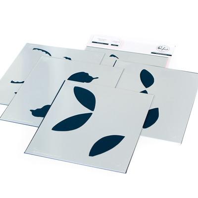 Layering Stencil Set, Butterflies