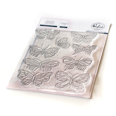 Clear Stamp, Small Butterflies