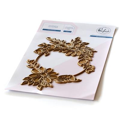 Hot Foil Plate, Daisy Wreath