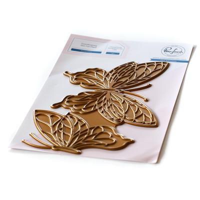 Hot Foil Plate, Butterflies