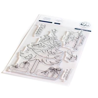Clear Stamp, Under the Christmas Tree