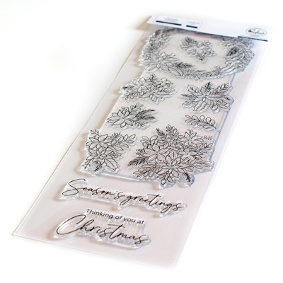 Clear Stamp, Poinsettia