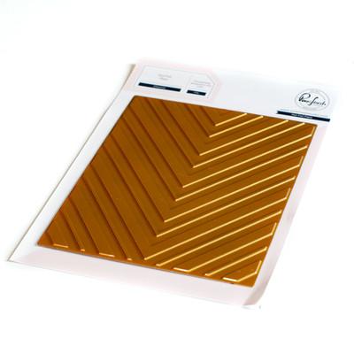 Hot Foil Plate, Chevron