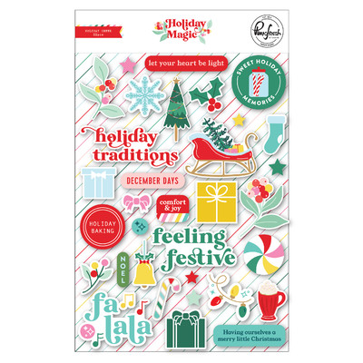 Puffy Stickers, Holiday Magic