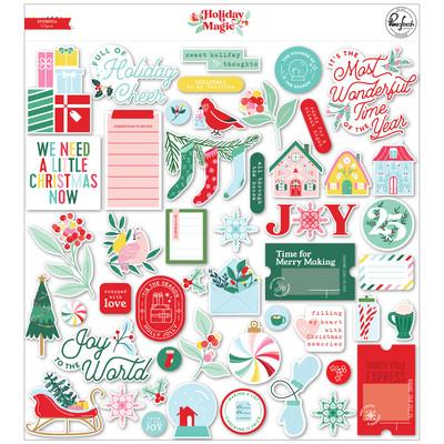 Ephemera Pack, Holiday Magic