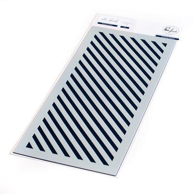 Stencil, Diagonal Stripe