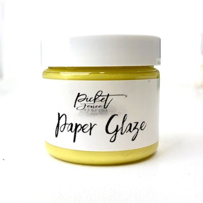 Paper Glaze, Daffodil Yellow (2oz)