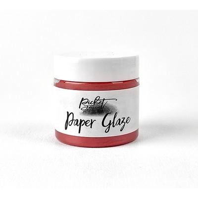Paper Glaze, Poinsettia Red