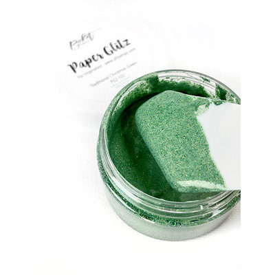 Paper Glitz, Traditional Christmas Green