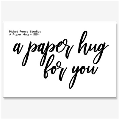 Clear Stamp, A Paper Hug