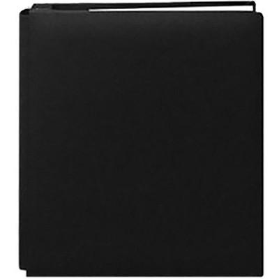 8.5X11 Bonded Leather Family Treasures Scrapbook, Black