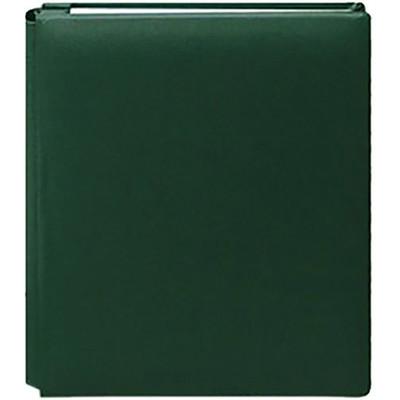 8.5X11 Bonded Leather Family Treasures Scrapbook, Hunter Green