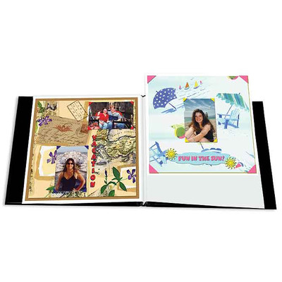 """Scrapbook Refill Pages, 8"""" x 8"""" White Insert"""