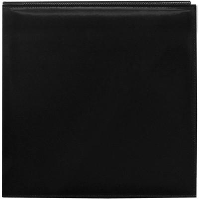 12X12 Snapload Leatherette Scrapbook, Black