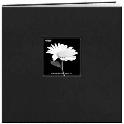 12X12 Snapload Frame Cover Scrapbook, Black