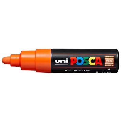 Paint Marker, PC-7M Broad Bullet - Orange