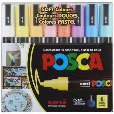 Paint Marker Set, PC-5M Medium - Soft Colors (8pc)