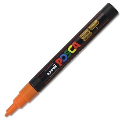 Paint Marker, PC-3M Fine - Bright Yellow