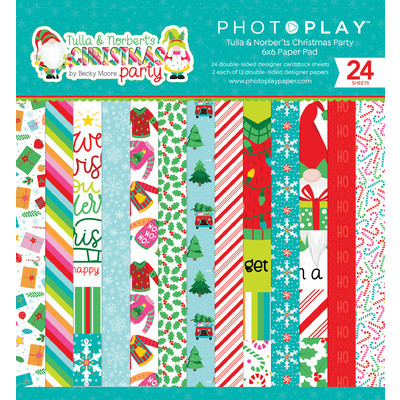 6X6 Paper Pad, Tulla & Norbert's Christmas Party