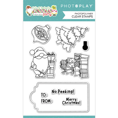 Clear Stamp, T&N Christmas Party - Christmas Morning