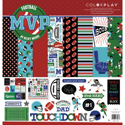 12X12 Collection Pack, MVP Football