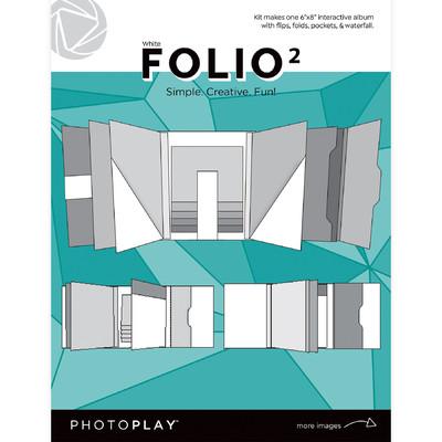 6X8 FOLIO 2, Maker's Series 2 - White