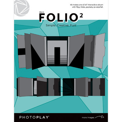 6X8 FOLIO 2, Maker's Series 2 - Black