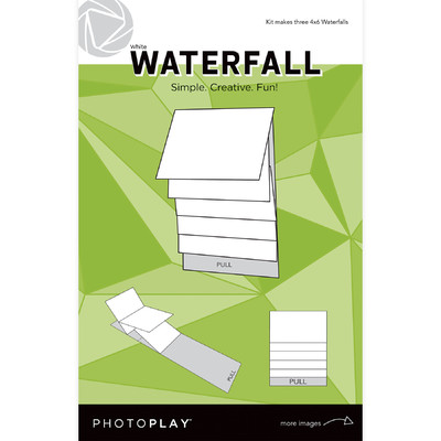 4X6 Waterfall Kit, Maker's Series 2 - Mechanical (White)