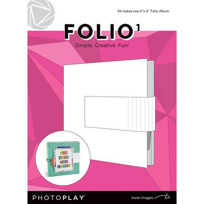 6X6 FOLIIO 1, Maker's Series - White