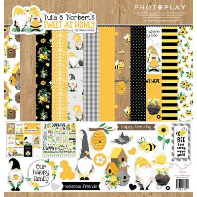 12X12 Collection Pack, Tulla & Norbert's Sweet as Honey