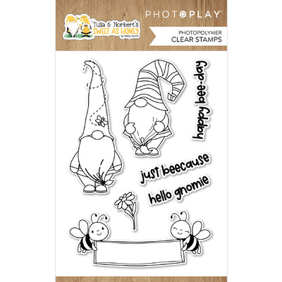 Clear Stamp, Tulla & Norbert's Sweet as Honey
