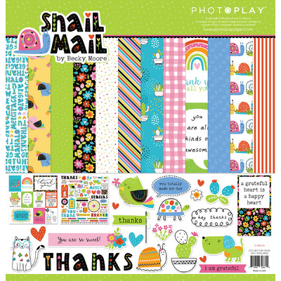 12X12 Collection Pack, Snail Mail