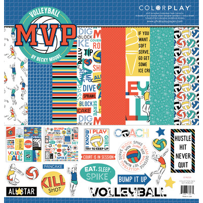 12X12 Collection Pack, MVP Volleyball