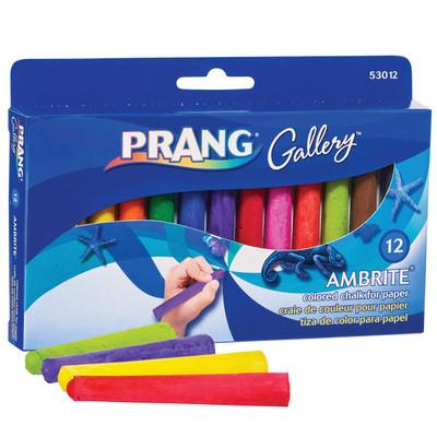 Ambrite Paper Chalk Set, 12 Colors