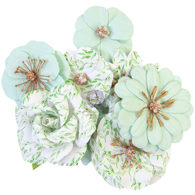 Prima Flowers, Watercolor Floral - Minty Water