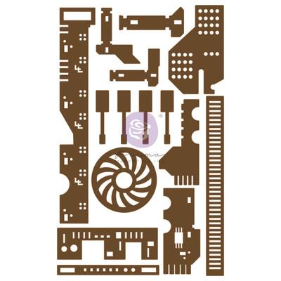 Chipboard Die Cuts, 05