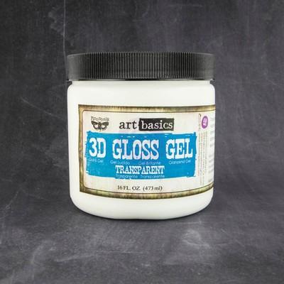 Art Basics, 3D Gloss Gel (16 Fl. Oz.)