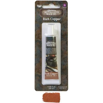 Art Alchemy Metallique Wax, Rich Copper
