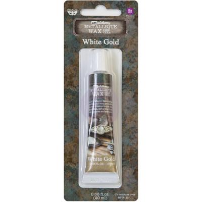 Art Alchemy Metallique Wax, White Gold