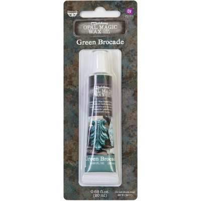 Art Alchemy Opal Magic Wax, Green Brocade