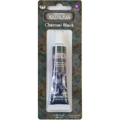 Art Alchemy Matte Wax Paste, Charcoal Black