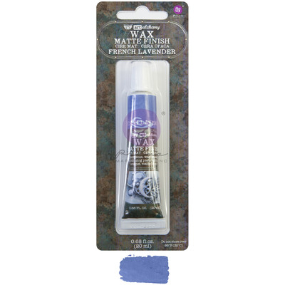 Art Alchemy Matte Wax, French Lavender