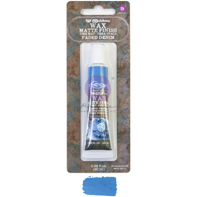 Art Alchemy Matte Wax, Faded Denim