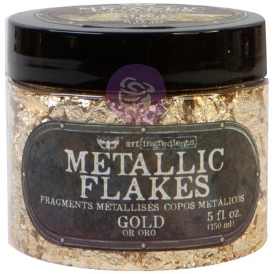 Art Ingredients Metallic Flakes, Gold