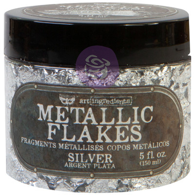 Art Ingredients Metallic Flakes, Silver