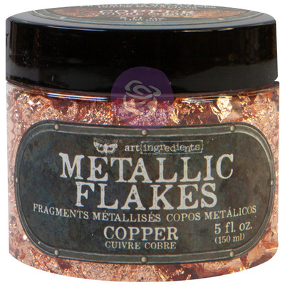 Art Ingredients Metallic Flakes, Copper